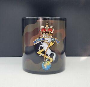 REME army camo mug with matching paracord handle, British Army