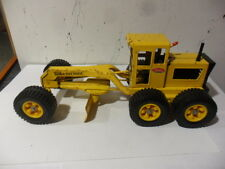 Vintage 1970's  Tonka Press Steel Road Grader  .
