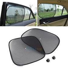 2Pcs Kids Baby Car Auto Side Window Screen Mesh Black Sun Shade Shield Visor Hot