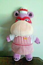 "Disney Doc McStuffins Hallie Hippo Plush Toy 8"""