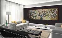 150cm aboriginal  art painting tree flower canvas print  jane crawford Australia