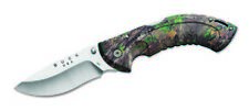 Buck Knives 397 Folding Omni Hunter-12Pt-Realtree Xtra Green Camo Folding Knife