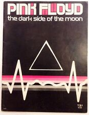 PINK FLOYD - The Dark Side Of The Moon - Original Sheet Music Songbook