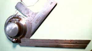 "# BSBP BROWN & SHARPE UNIVERSAL BEVEL PROTRACTOR, No. 495 6"" blade no case"