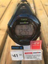 Timex TW5M10400, Men's Ironman 30-Lap Watch, Sleek, Alarm, Indiglo, 100 Meter WR