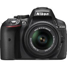 Nikon D5300 DX-Format DSLR Camera w/ 18-55mm DX VR II Lens - Factory Refurbished