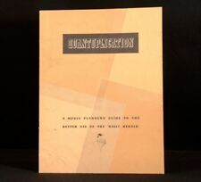 c1953 Quantuplication Media Planners Guide To Better Use Of Daily Herald Letter