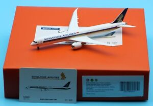 JC Wings 1:400 Singapore Airlines 1000th B787-10 Diecast Aircarft Model 9V-SCP