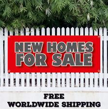 New Home For Sale Advertising Vinyl Banner Flag Sign Broker Apartment House Rent