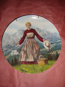"""Collectible Plate """" The Sound of Music""""  by Edwin M. Knowles"""
