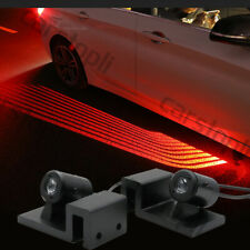 2x LED Angel Wings Welcome Lights Red Car Door Courtesy Shadow Ghost Projector