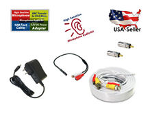 High Sensitive Microphone Audio Kit for Security Camera System