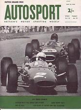 JIM CLARK wins DUTCH GP 1964 AUTOSPORT MAY 29TH 1964