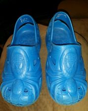 BUSTER BROWN SANDALS TODDLER BOYS SIZE 13 BLUE WATER RUBBER AMAZING SPIDERMAN