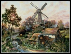 The Lights of Home - Chart Counted Cross Stitch Pattern Needlework Xstitch DIY