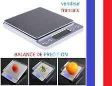 Balance électronique de précision 0.01g à 500g + 2 plateaux Pocket + PILE .