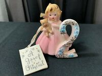 """A Josef Original Collectible Angel ~ """"THE SECOND YEAR""""  w/Tag ~ 3"""" Tall"""