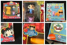 Fisher Price Nickelodeon 2010 Kai Lan Lulu Special Places Sleepover In Box