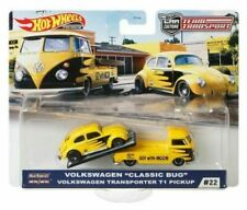 HOT WHEELS 2020 TEAM TRANSPORT VW CLASSIC BUG/ TRANSPORTER T2 PICKUP #22 GJT42