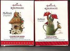 2015 Hallmark Ornament  Marjolein's  SIMPLE GIFTS HOME WREN  2014 Series #1 #2