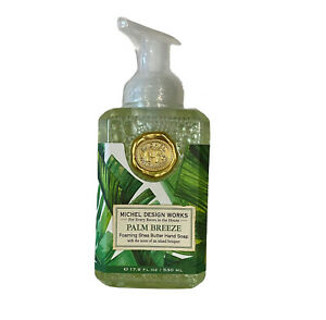 Michel Design Works Foaming Shea Butter Hand Soap 17.8 Oz. - Palm Breeze