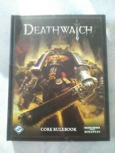 Deathwatch Core rulebook 40k RPG