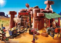 Playmobil - Western - Goldmine mit Sprengkiste, 5246