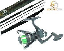 11ft Carbon Carp Float Match Fishing Rod & HP40R Reel. Hunter Pro Quality Brand