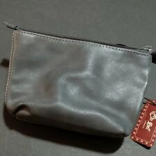In Pell Pelletterie 2F Wristlet Clutch Leather Grey