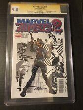 Marvel Zombies Vol 2 4 CGC SS 9.0 Arthur Suydam Nick Fury Cover Swipe Kirkman