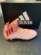 $129 Adidas Freak Lax Mid Ice Pink/Coral Men's LaCrosse Cg4258 🔥🔥 Size 11