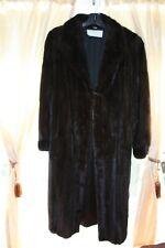 Perry Ellis Full Length Custom Mink Coat - women's size XL/1X