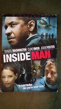 Inside Man (DVD, 2006, Anamorphic Widescreen)
