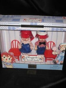 1999 Barbie RAGGEDY ANN & ANDY Tommy & Kelly Giftset #24639 NRFB