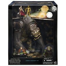*DAMAGED PACKAGE* Star Wars Black Series JABBA'S RANCOR PIT 6 figures! NEW