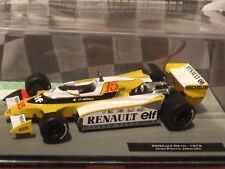 1979 F1 Jean-Pierre Jabouille   RENAULT RS10  1:43 Scale