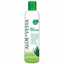 NEW! Convatec Aloe Vesta Moisturizer Lotion Skin Cream- 8 oz. Bottle -2 Pack