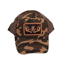 Browning Cap, Racked, Brown/Black