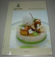 Apicius - Die kulinarische Avantgarde Buch Kochbuch Neu Heel Verlag!