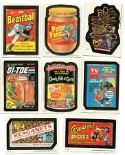 Wacky Packages 1985 Complete set of 44 and wrapper