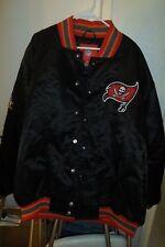 2002 Tampa Bay Bucaneers NFL SuperBowl heavy Jacket  XL  * Worldwide *