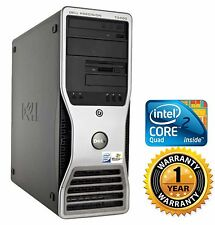 Dell T3400 TOWER PC COMPUTER DESKTOP Intel C2D Quad 2.40GHz 4GB 250gb NO OS