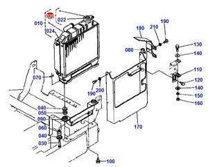 "Kubota ""K, KH & KX Series"" Excavator Radiator Cap # 1527272020 #"