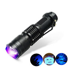 1* UV Ultra Violet LED Flashlight Blacklight Light 395 nM Inspection Lamp,Torch