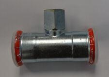 Geberit Mapress 21317 T-Stück reduziert Ø 42x3/4x42mm IG Reduzierung Neu