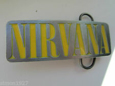 Nirvana unique belt buckle.