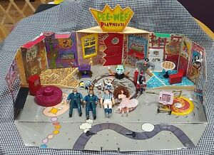 Vintage 1988 PEE-WEE'S PLAYHOUSE PLAYSET + extras by Matchbox