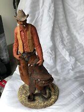 Original Western Sculpture byD Monfort