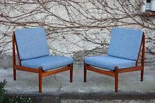 Teca loungechair 1 de 2 Danish Design