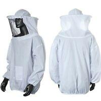 Beekeeper Beekeeping Jacket Protective Veil Smock Bee Hat Suit Clothes Equipment